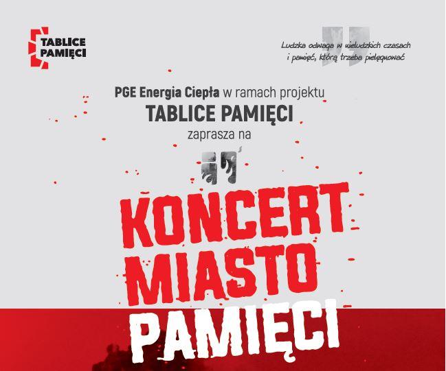 """PGE Energia Ciepła zaprasza na koncert """"Miasto Pamięci"""" do Muzeum Wojska Polskiego w Warszawie"""